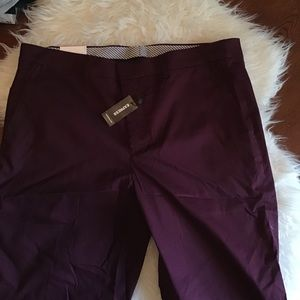 Men's Express dress pants (slim)